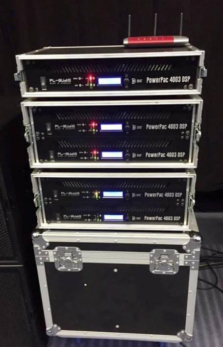 Powerpac DSP 4003 Racks